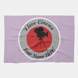 I love Cinema Kitchen Towel