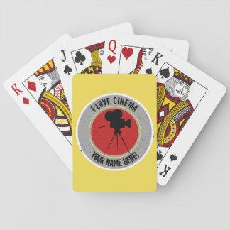 I love Cinema Playing Cards