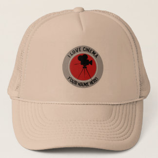 I love Cinema Trucker Hat