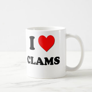 I love Clams Coffee Mug