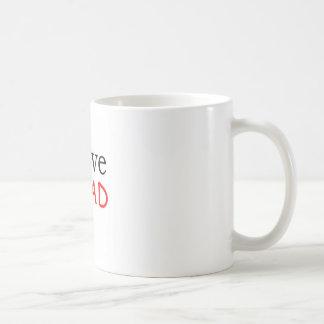 I Love Classic White Coffee Mug