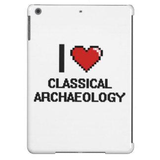 I Love Classical Archaeology Digital Design iPad Air Cover