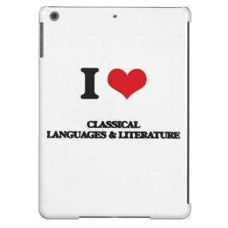 I Love Classical Languages & Literature iPad Air Covers