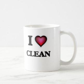 I love Clean Coffee Mug