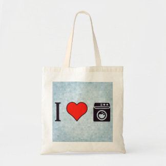 I Love Clean Laundry Tote Bag