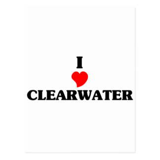 I love Clearwater Postcard