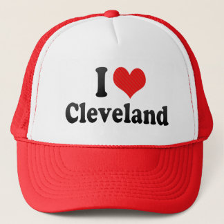 I Love Cleveland Trucker Hat