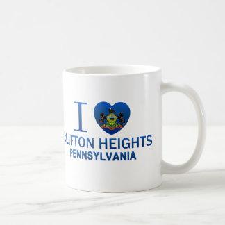 I Love Clifton Heights, PA Coffee Mug