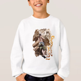 I Love Climbing Go Climb Sweatshirt