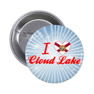 I Love Cloud Lake Florida Buttons