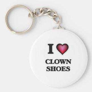 I love Clown Shoes Keychain