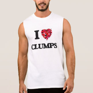 I love Clumps Sleeveless T-shirt
