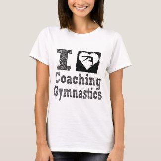 I Love Coaching Gymnastics T-Shirt