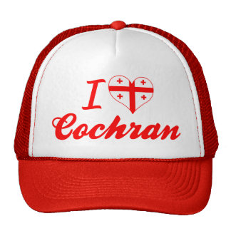 I Love Cochran, Georgia Trucker Hat