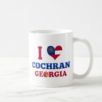 I Love Cochran, Georgia Coffee Mugs