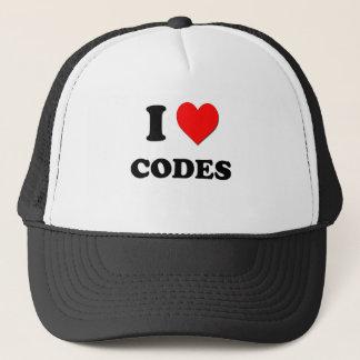 I love Codes Trucker Hat
