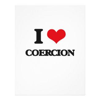 I love Coercion Full Colour Flyer