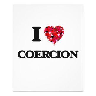 I love Coercion Full Color Flyer