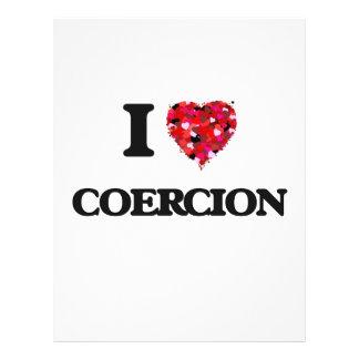 I love Coercion Flyer