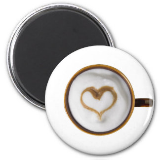 I Love Coffee 03 2 Inch Round Magnet