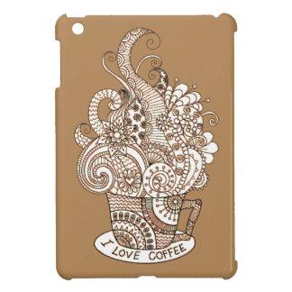 I Love Coffee Case For The iPad Mini