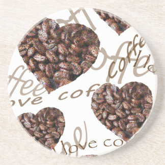 I Love Coffee!! Coaster