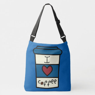 I Love Coffee Crossbody Bag