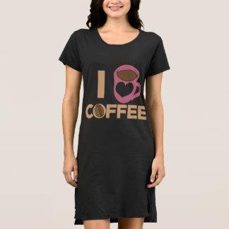I love coffee dress