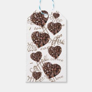 I Love Coffee!! Gift Tags