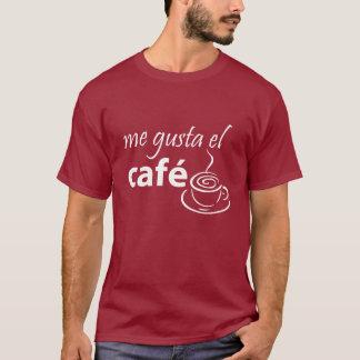 I Love Coffee Graphic Spanish T-shirt