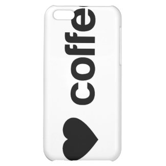 I love coffee cover for iPhone 5C