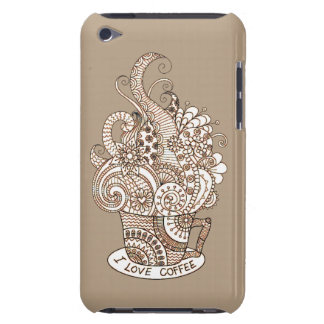 I Love Coffee iPod Case-Mate Case