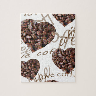 I Love Coffee!! Jigsaw Puzzle