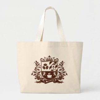 I love coffee jumbo tote bag
