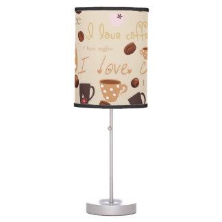 I love coffee lamp
