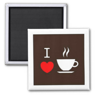 I love coffee magnet
