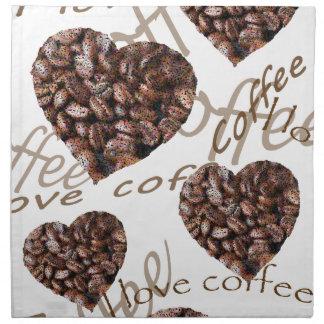 """I Love Coffee!"" Napkin"
