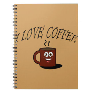 I love coffee notebook