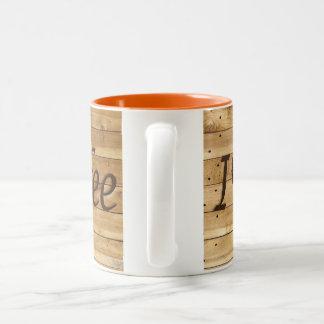 i love coffee Two-Tone coffee mug