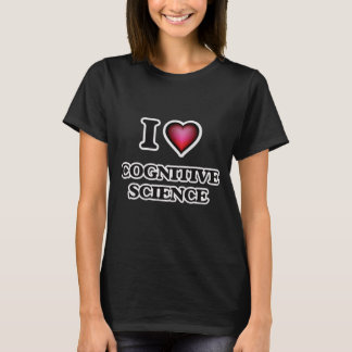 I Love Cognitive Science T-Shirt
