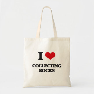 I Love Collecting Rocks Tote Bag