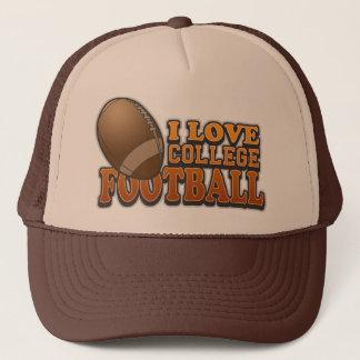 I Love College Football Trucker Hat