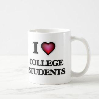 I love College Students Coffee Mug