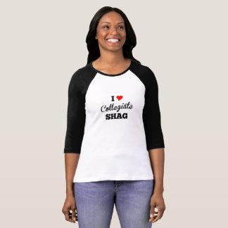 I Love Collegiate Shag T-Shirt