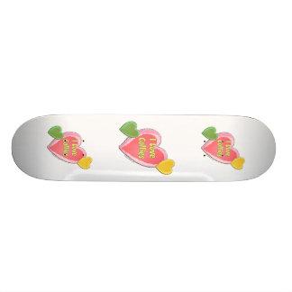 I Love Collies Dog Heart Skate Board