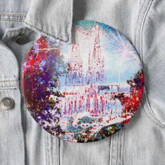 I Love Cologne 6 Inch Round Button