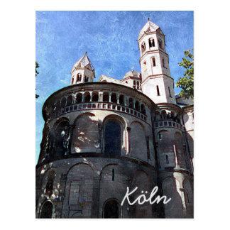 I love Cologne Postcard