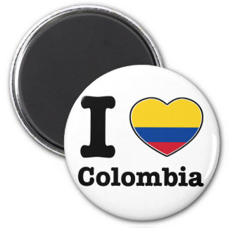 I love Colombia Magnet