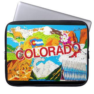 I Love Colorado Laptop Sleeve