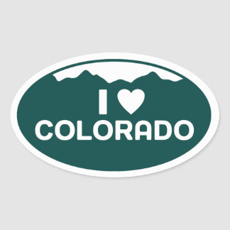 I Love Colorado Sticker